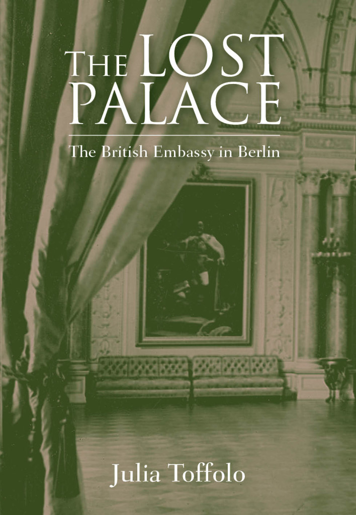 The Lost Palace by Julia Toffolo, cover